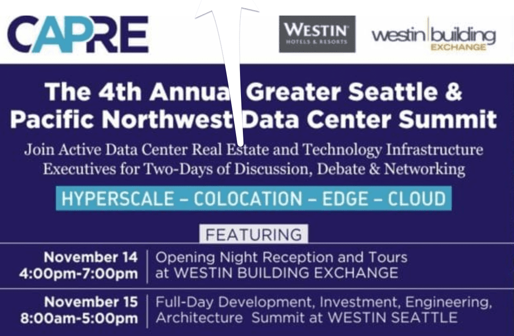 4th Annual Greater Seattle & Pacific Northwest Data Center Summit